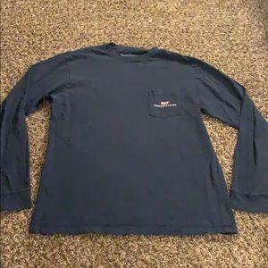 MENS Blue VINEYARD VINES Long Sleeve Shirt SMALL